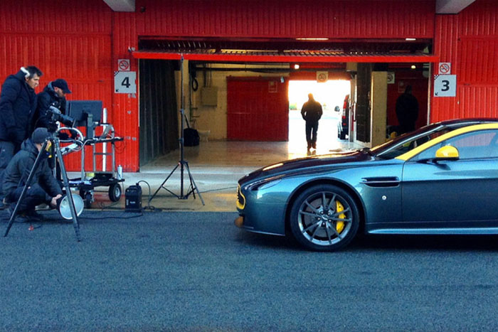 Paul Barshon in Spain for Identity and Aston Martin
