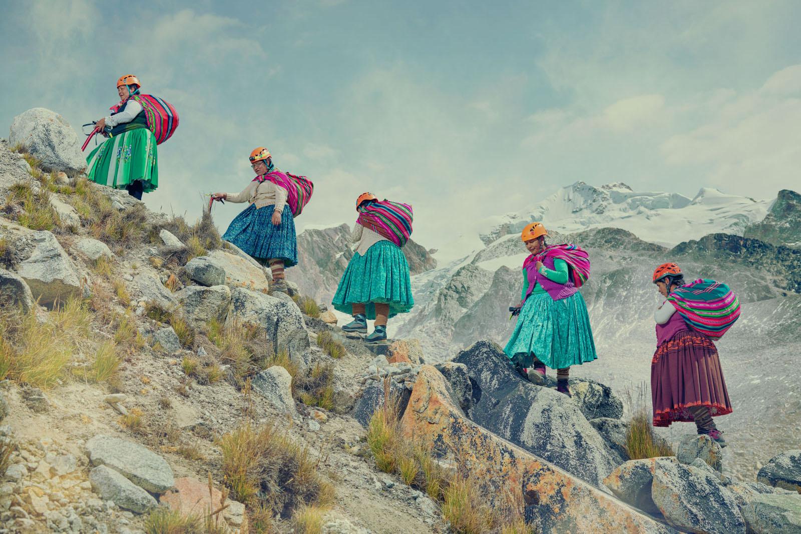 Climbing Cholitas