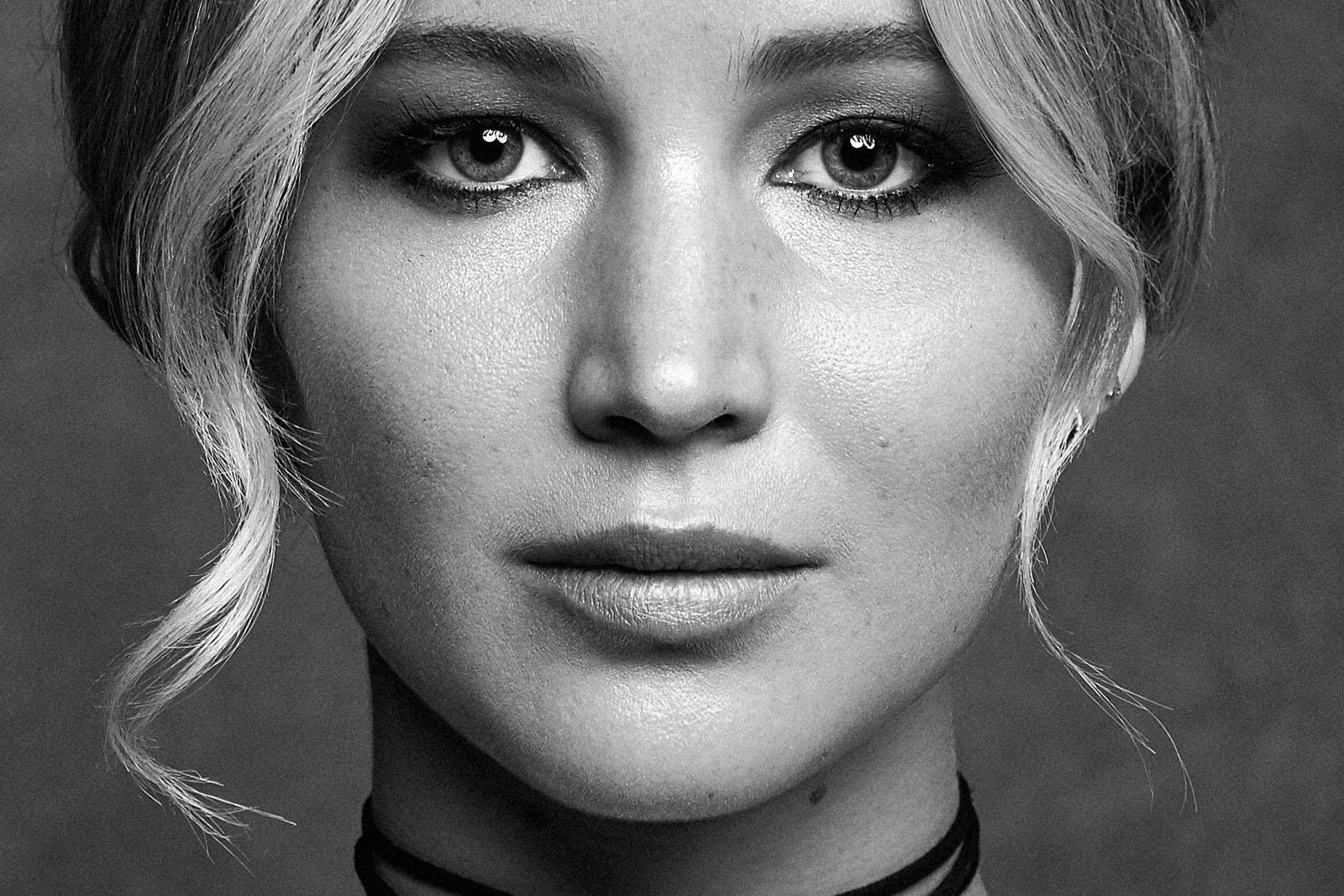Photographing Jennifer Lawrence